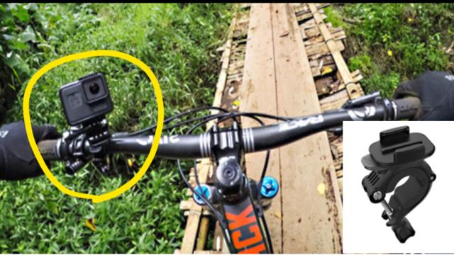 Gopro 7ロードバイクにレックマウントで取付けてみたロードバイクの